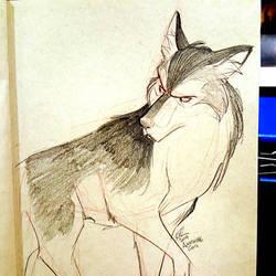 wolf commish by basakward