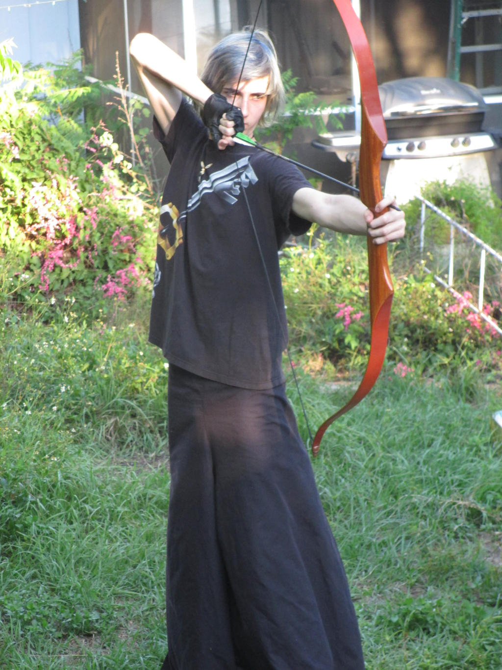 Recurve Bow Practice by NightsGem