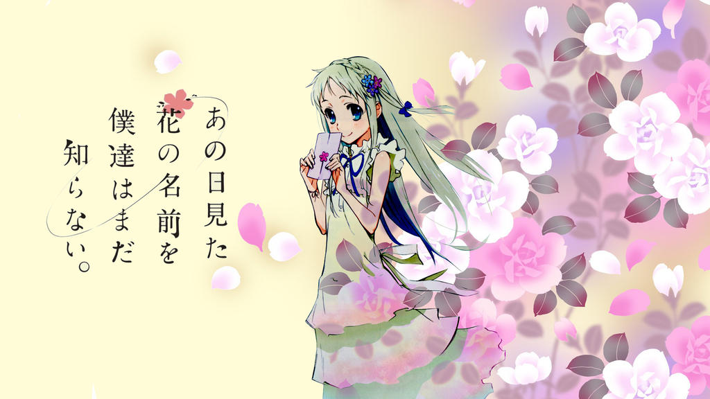 164 Anohana HD Wallpapers | Backgrounds - Wallpaper Abyss