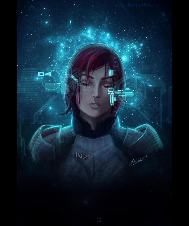 Jane Shepard - Mass Effect 3 Sci-fi-ver by ellieshep
