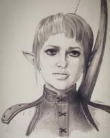 Sera - Dragon Age Inquisition - Portrait by ellieshep