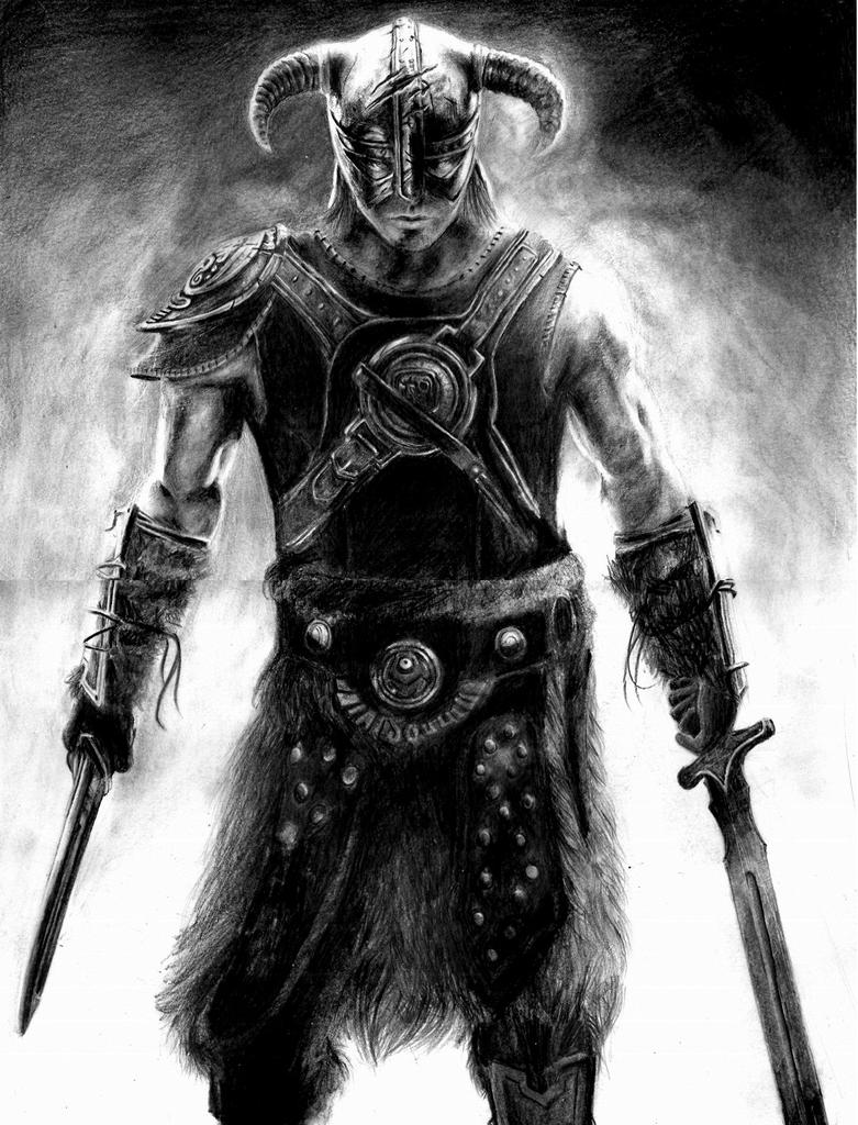 above is skyrim drawing - photo #15
