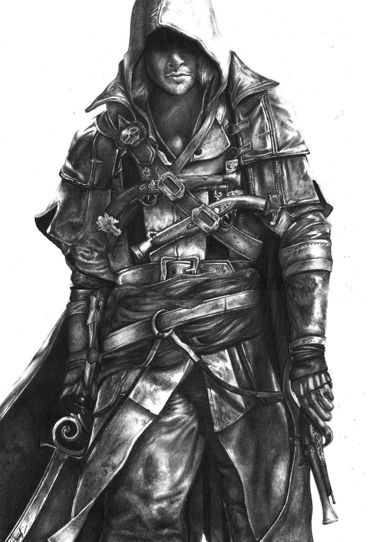 Pencil drawing assassins creed 4 black flag by keshavsart on pencil drawing assassins creed 4 black flag by keshavsart voltagebd Gallery