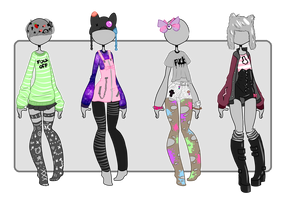 {outfits closed} by Vitifolium