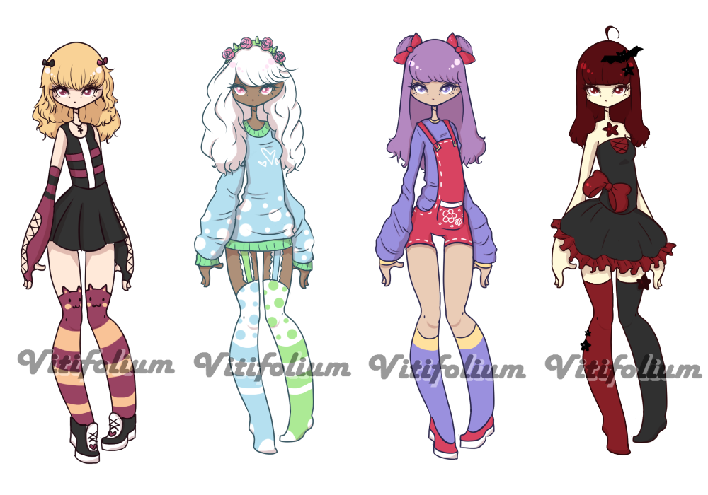 Collab w/RustyAdopts {CLOSED} by Vitifolium