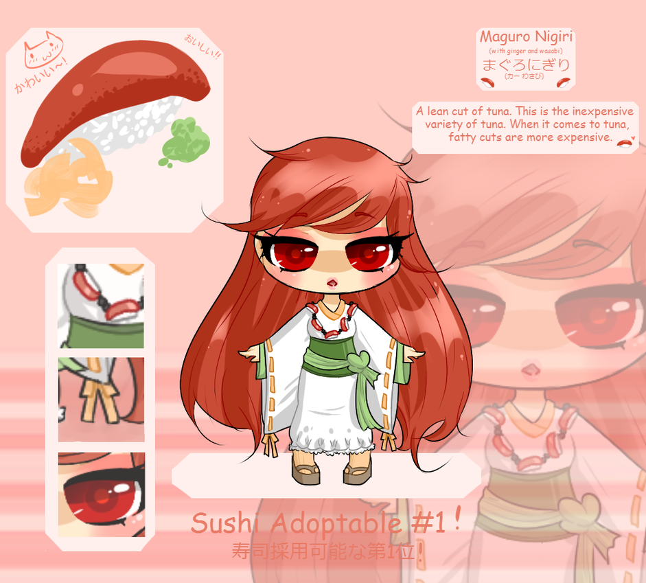 Sushi Adoptable {sold} by Vitifolium