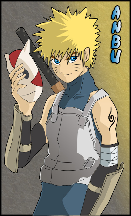 Naruto As A Anbu ANBU Naruto by polarbe...
