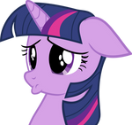 Pouty Twilight being adorable
