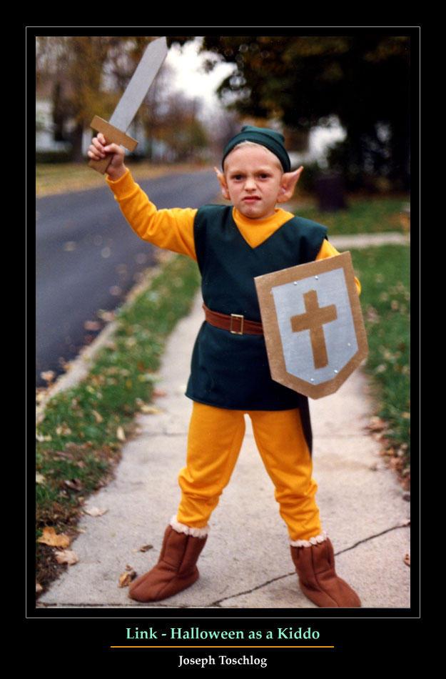 Link - Halloween as a Kiddo by Vlarg
