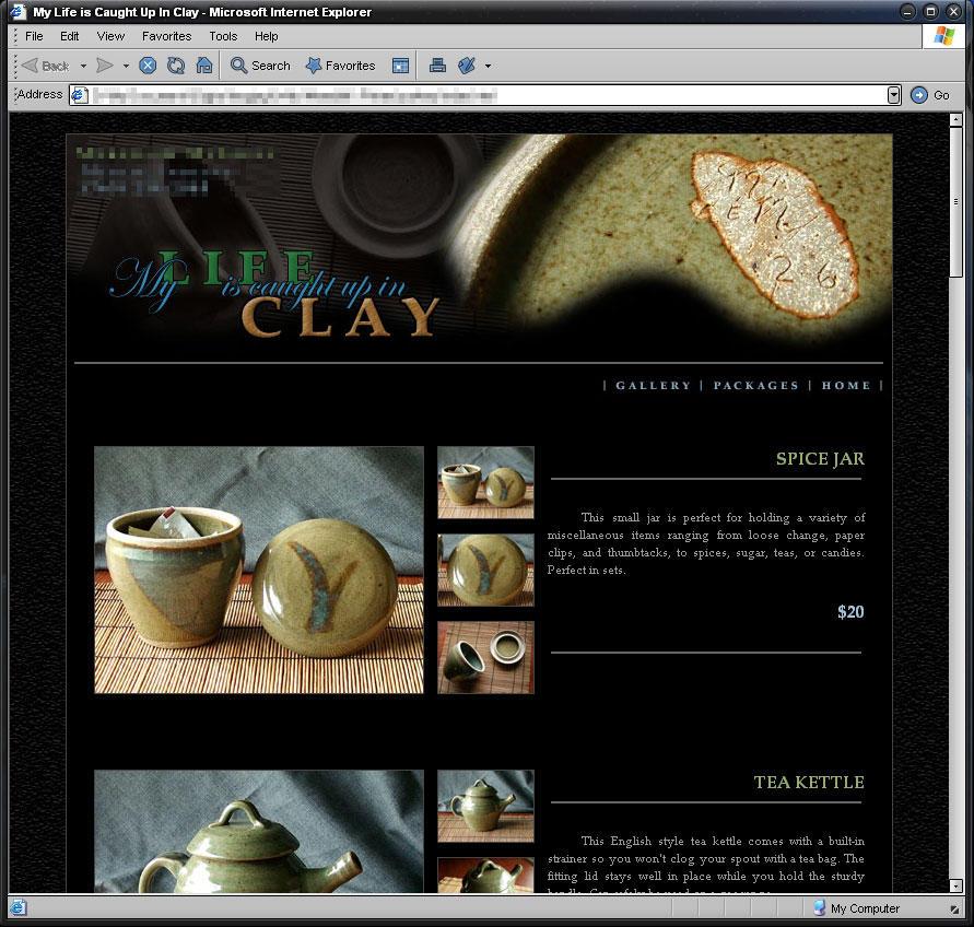 Ceramic Showcase Layout by Vlarg