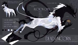 AUCTION closed - Dead Unicorn