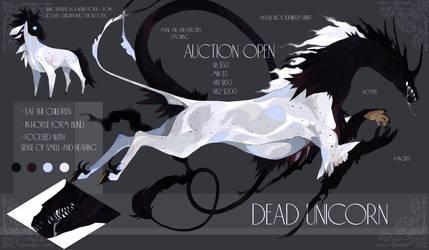 AUCTION closed - Dead Unicorn by Beaver-XX