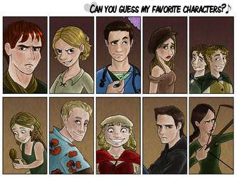Guess The Characters by marbri