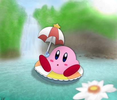 Kirby chillin