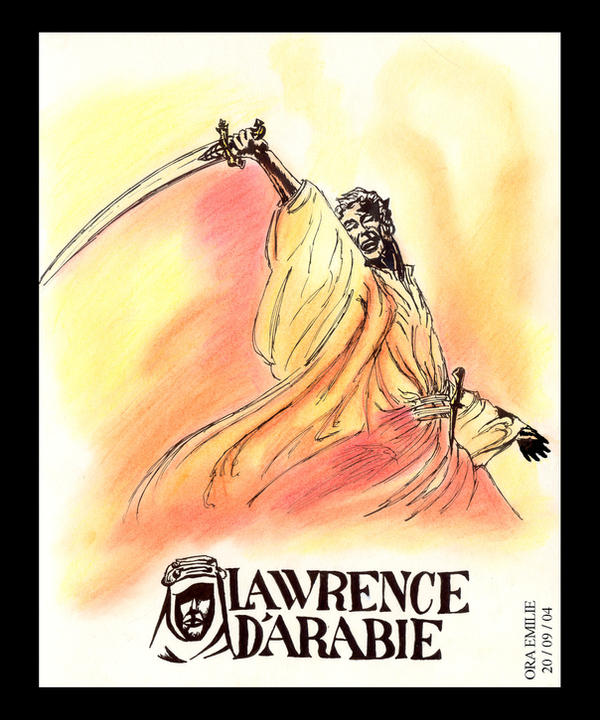 Lawrence of Arabia by Falang