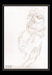 Doug Jones sketch by Falang