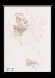 Gainsbourg sketch by Falang