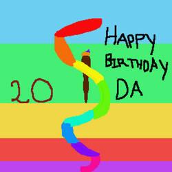 DA 20th Birthday