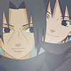Itachi, Sasuke icon by Meteora94