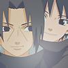 Itachi, Sasuke icon by Meteora94