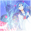 Miku Hatsune icon by Meteora94