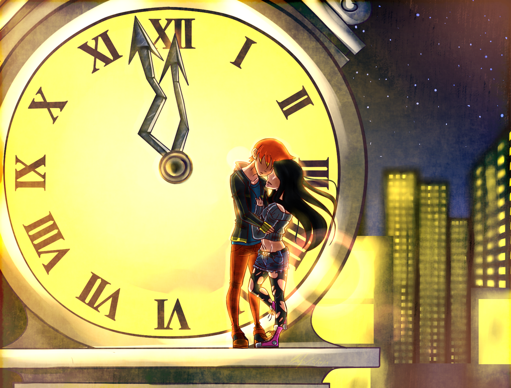 When The Clock Chimes 12 by chaoskitty1257