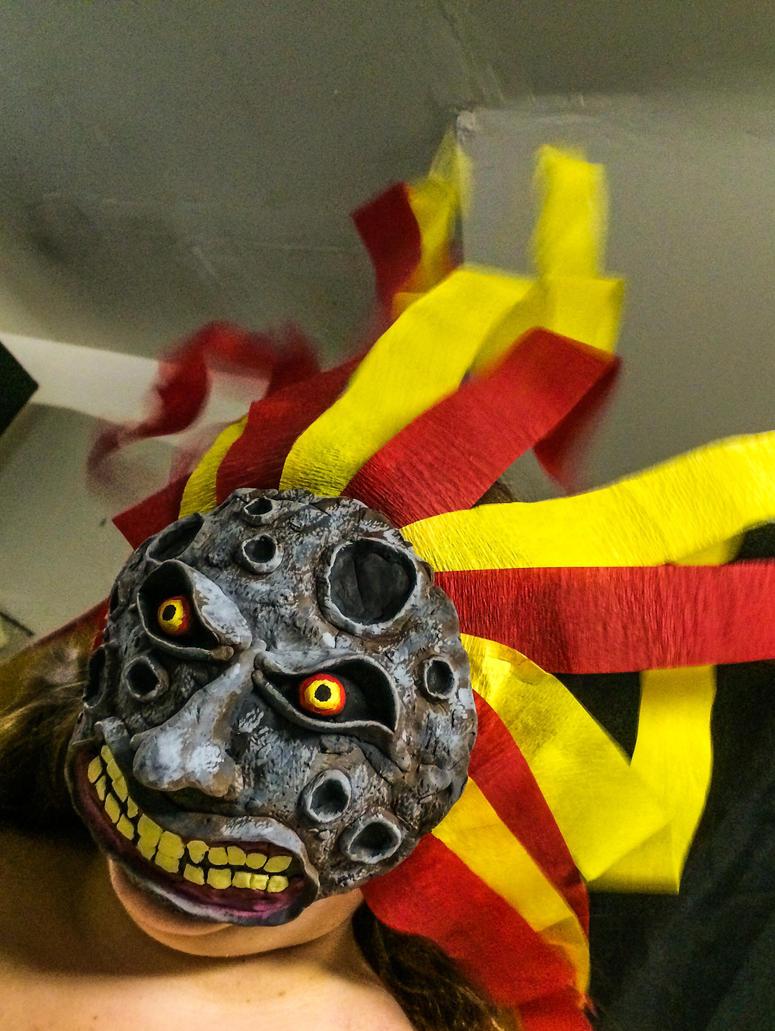 My Majora's Mask- Mask of Destruction by chaoskitty1257