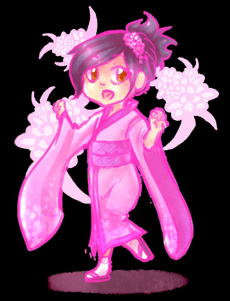 Kimono by chaoskitty1257