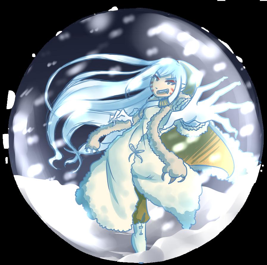 Snowglobe  by chaoskitty1257