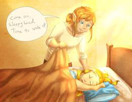 Sleepyhead Zelda