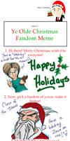 Christmas Fandom Meme: CotT by dustbudde