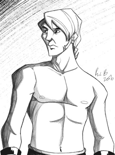 Sketch Of A Hero Theseus By Dustbudde On Deviantart