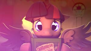 Twilight loves books by Star-lightStarbright