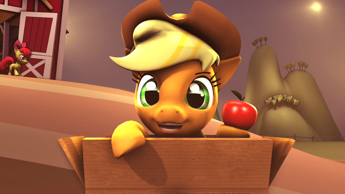 Boxpons - Applejack by Star-lightStarbright