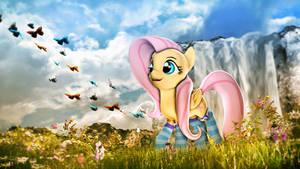 Ponies in Socks Redone - Fluttershy by Star-lightStarbright