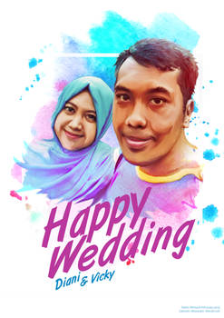 Happy Wedding for my cousin