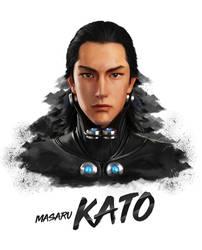 Masaru Kato (Gantz) Painting Potrait