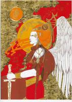 Archangel Michael by Tagwerk