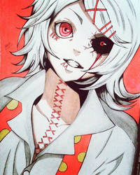 Juuzou Suzuya Ghoul by MikaNakashi