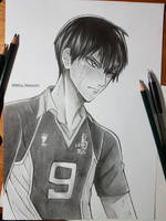 Kageyama Tobio from Haikyuu!! by MikaNakashi
