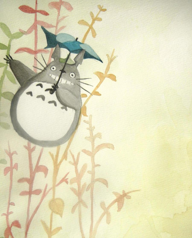 + Totoro Umbrella + by BellaRosie