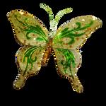 Glitter Butterfly PNG Vampstock
