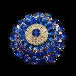 Blue Brooch PNG Vampstock