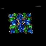 Blue Green Brooch PNG Vampstock