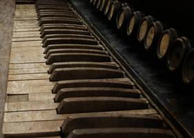 Antique Piano 8 Vampstock by VAMPSTOCK