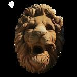Lion Head PNG Vampstock