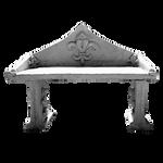 Stone Bench PNG Vampstock