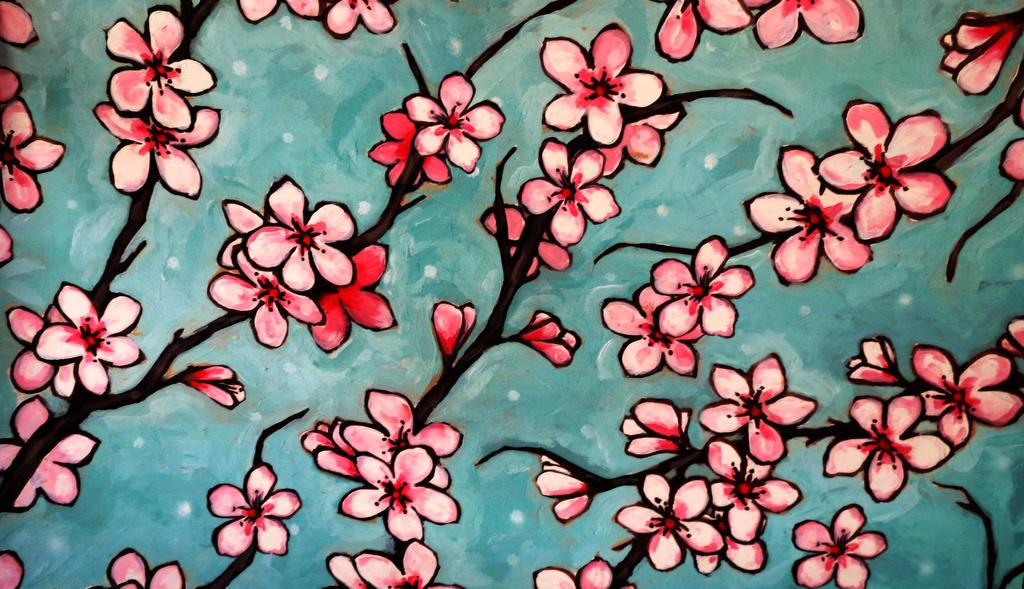Blossom Texture Vampstock by VAMPSTOCK