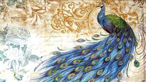 Peacock Texture Vampstock