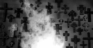 Smoky Grunge Cross Vampstock